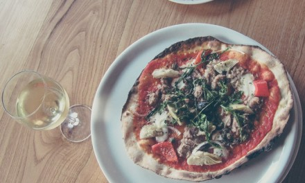Pizza eten in Umbrië