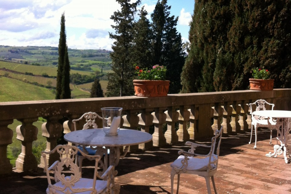 Kasteel in Toscane