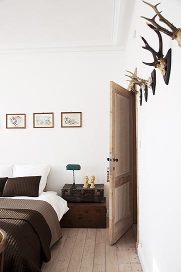 slaapkamer de witte nijl B&B Antwerpen