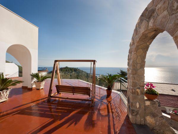 Mooi vakantiehuis aan de Amalfi kust