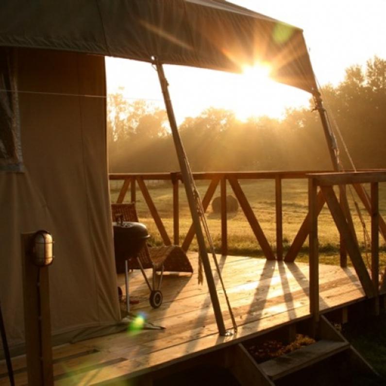 Luxe kamperen in Auvergne