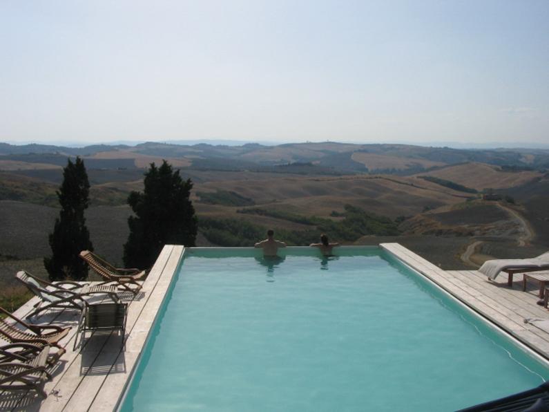 Paradijs in de Toscaanse heuvels