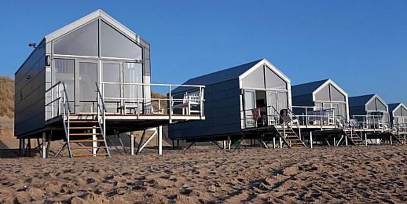 Strandhuis aan zee