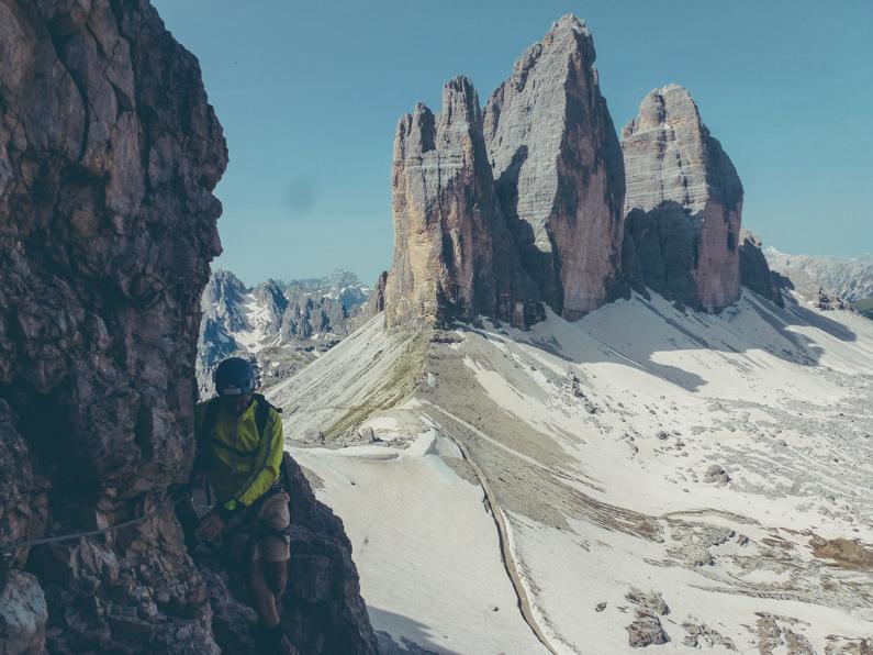 Süd-Tirol-berg-beklimmen