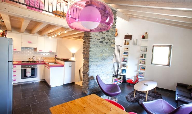 Duurzaam design: vakantiehuis in Ligurie