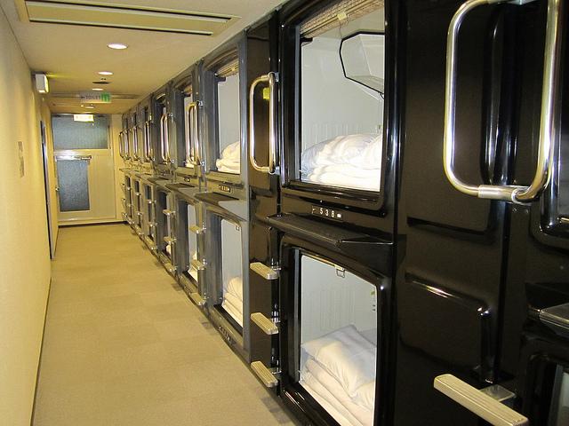 Kiba-Hotel-Tokyo capsule hotel