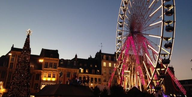 Kerstmarkt in Lille