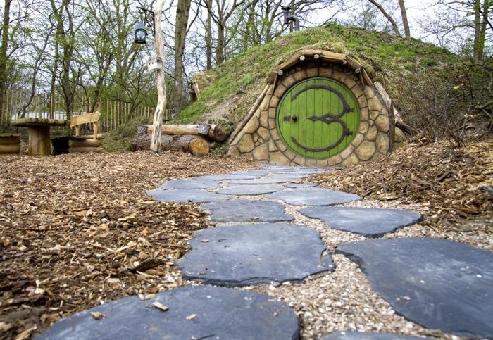 Slapen in een hobbithuis