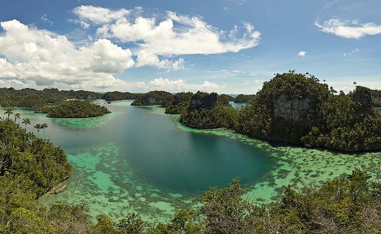 prive eiland indonesie