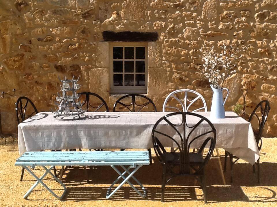 Romantisch vakantiehuis in de Dordogne