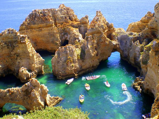 5 mooiste stranden Algarve-Portugal
