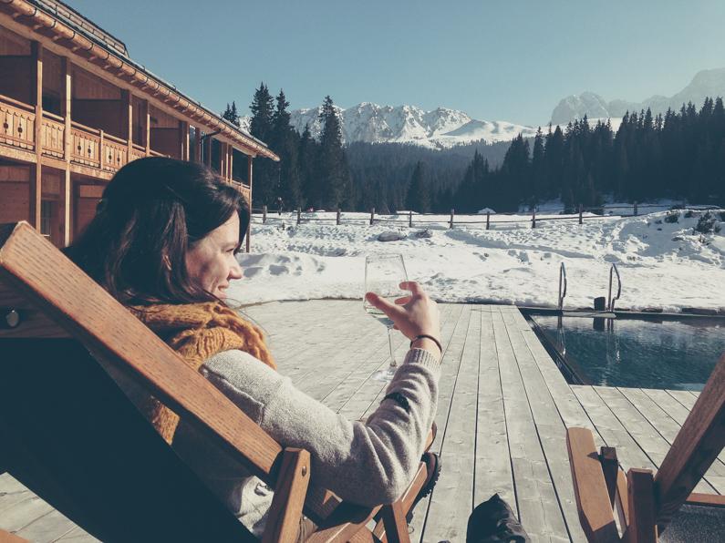 Sneeuwpret in Zuid-Tirol