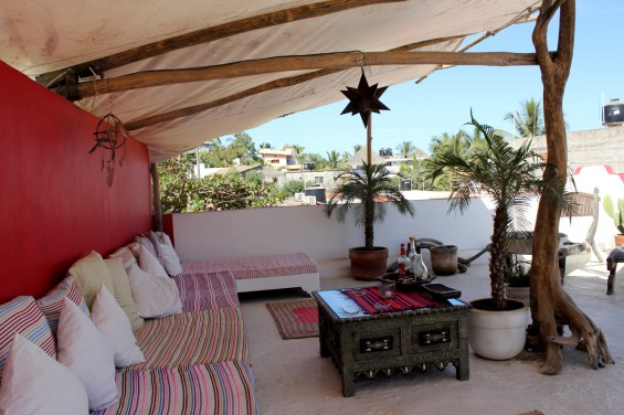 Mooi hotel boho Mexico