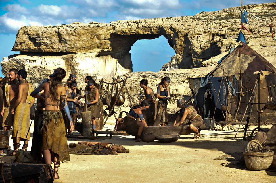 game of thrones filmlocatie 1 malta