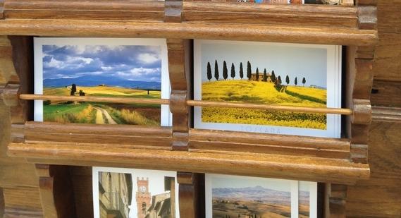 De mooiste cipressen van Toscane