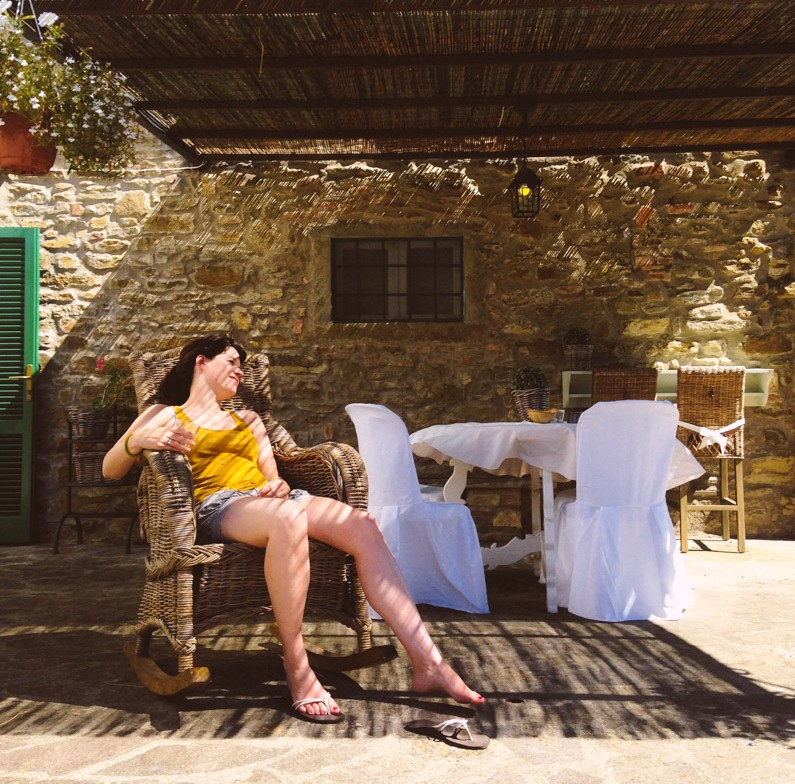 Te gast bij Casa Capanni in Toscane