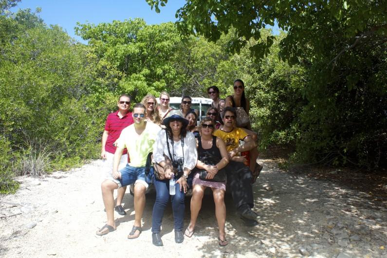 Mijn reisgenoten en ik