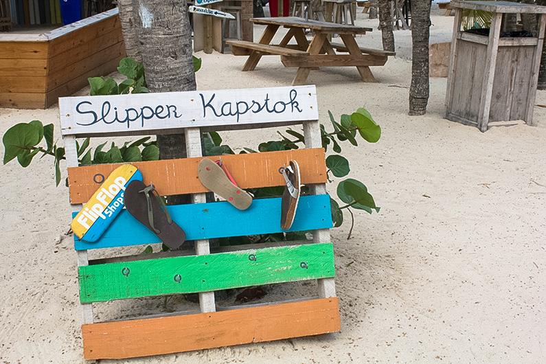 Voetjes in het zand hotel Curaçao
