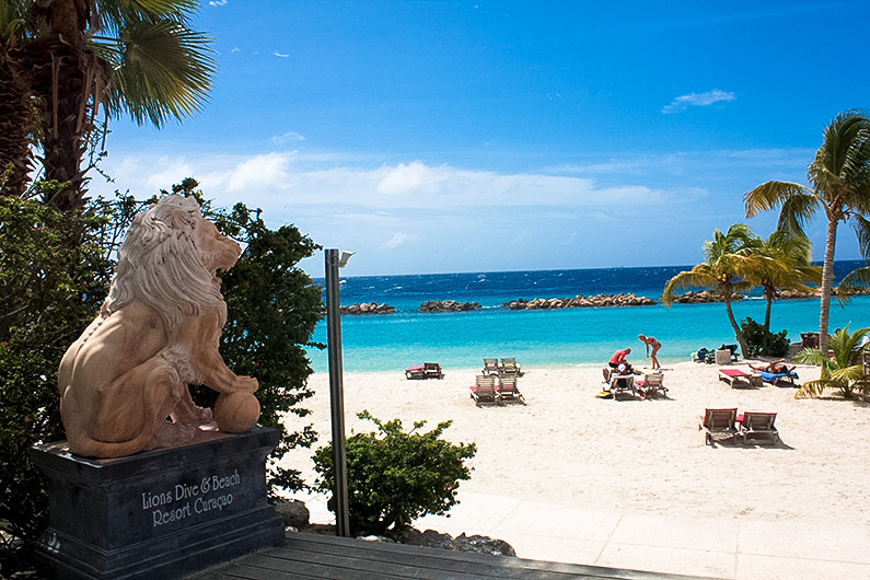ervaring Lions Dive hotel Curacao