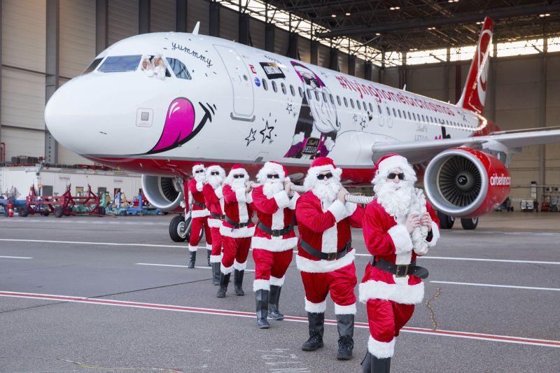 Je kerstboom mee in het vliegtuig