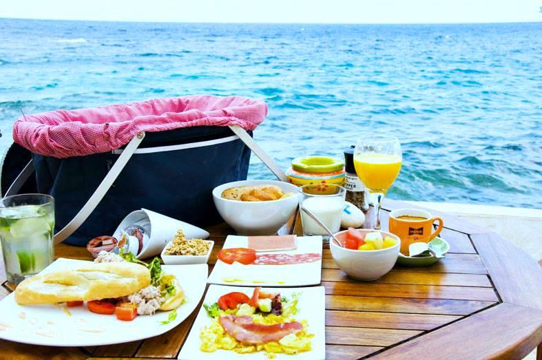 scuba lodge boutique hotel curacao picknick