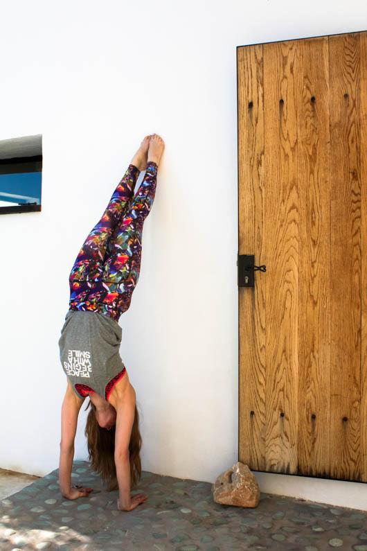 handstand yoga ibiza