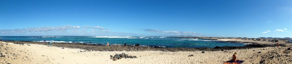 Punta Blanca surfstrand fuerteventura