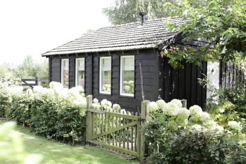 Houten huisje op de Veluwe