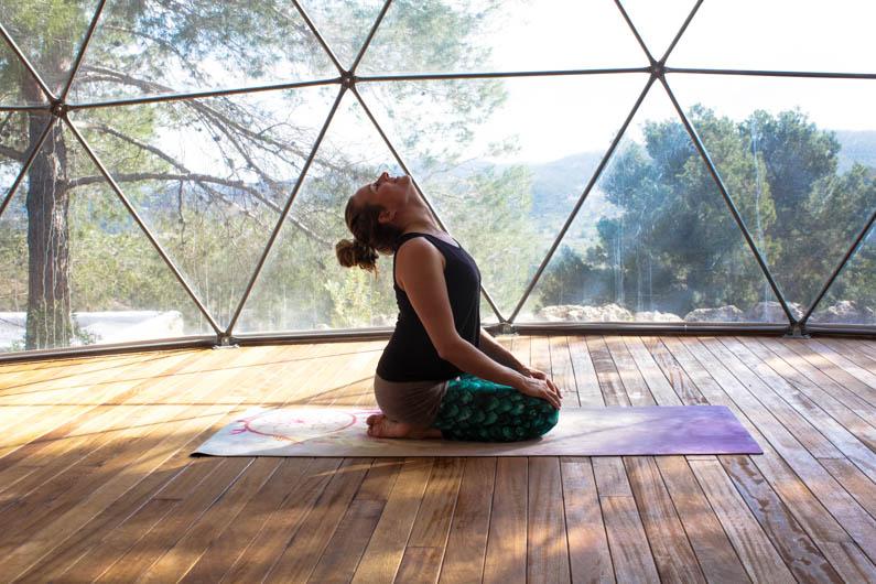 yoga oefening chakra's