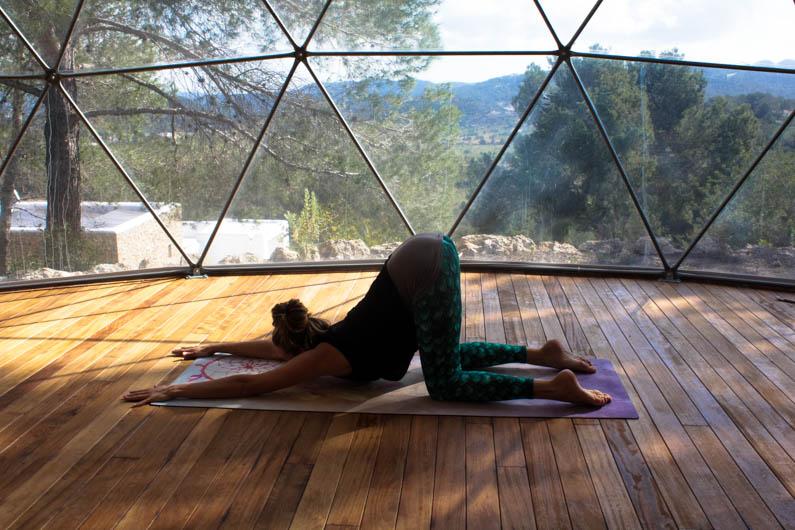 yoga oefening chakra's nr 4