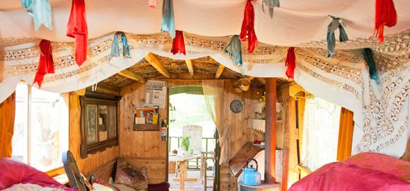 woonwagen bohemian hippie engeland