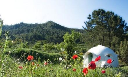Eco domes in Spanje