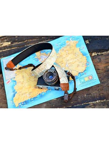 landkaart-camera-riem