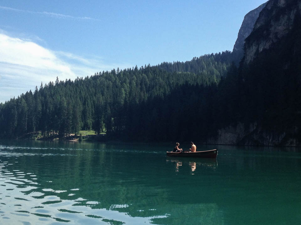 lago di braies boot huren