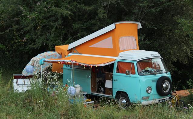 Camper huren voor festival