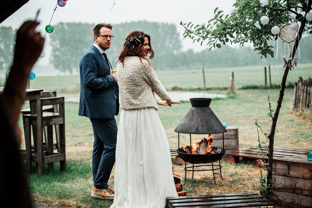 buiten trouwen koud