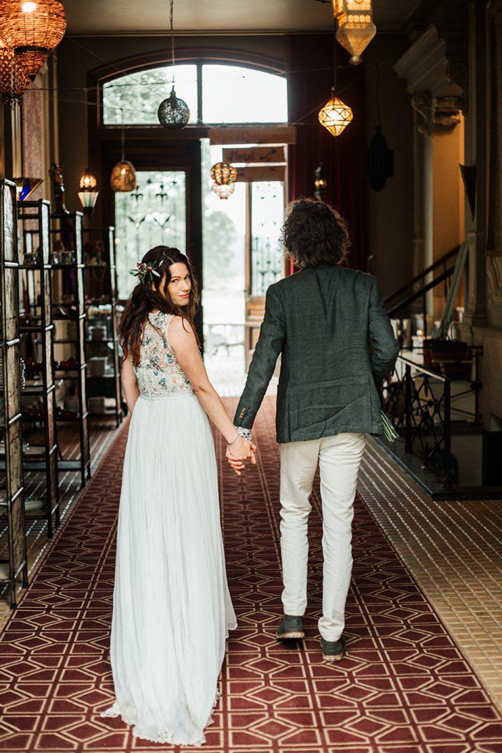 bruiloft bij hotel gaia