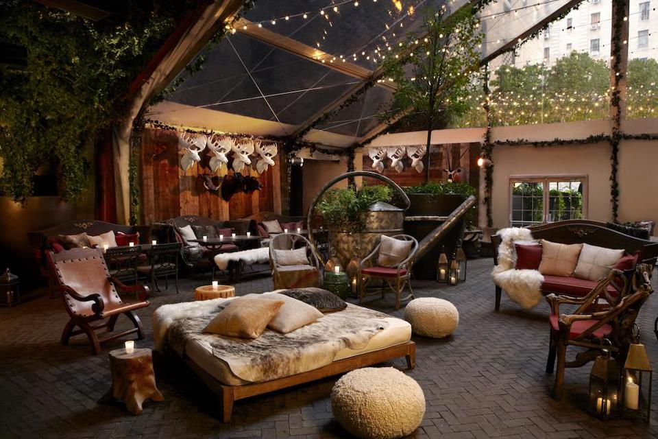 Bohemian Stijl Hotel Met Hangmat In New York