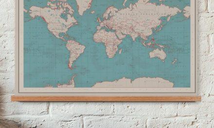 Winactie: win een wereldkaart twv 50 euro