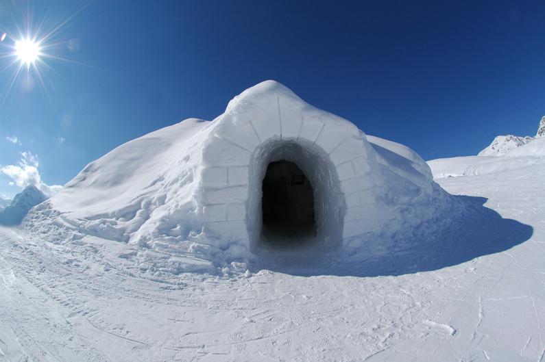 Cool iglo hotel