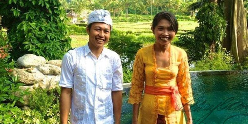 Boomhut op Bali