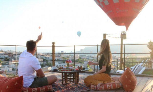 Kelebek Cave hotel in Cappadocië