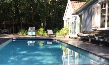 Ik wil dit! Boshuisje met zwembad